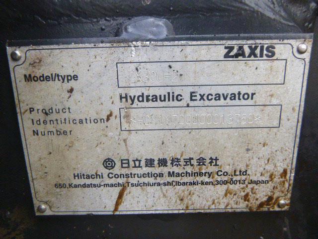 HITACHI ZX30U-2