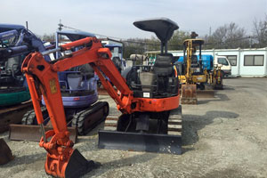 Mini Excavating Equipment