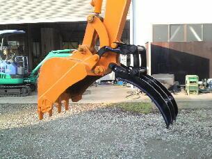 Excavator Thumb Attachment