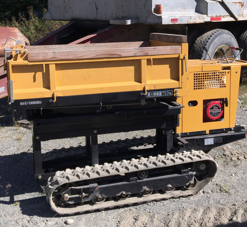 KOMATU LIFTING CARRIER DUMPER CP3-1